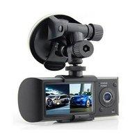 """DUBLE CAMERA VOITURE DVR R300 avec GPS et Capteur G-3D 2.7 """"TFT LCD X3000 FHD 1080P Camcope Camcope Catégorie de caméscope"""