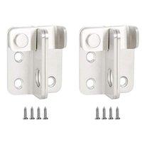 آخر باب الأجهزة 2 مجموعات مفيدة انزلاق أقفال دائمة بوابة السلامة الحظيرة قفل