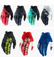 Guantes cuesta abajo Riding All Finger Mountain Bike Stimbing Car BMX Motocicleta Cross Country Gloves