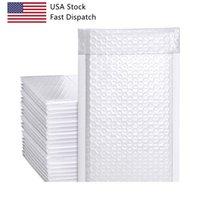 USA Stock Cor Preto Cor Correio Saco Poly Bubble Mailers Plásticos Mailing Sacos Acolchoado Envelopes Bubble Mailers