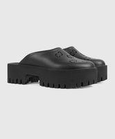 Logotipo de Dongdong de fondo grueso Baotou Mald Slippers Sand Sell Box Bag anti resbalón Zapatos de playa versátiles