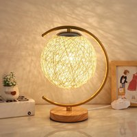 Table Lamps Nordic Creative Desk Lamp Bedroom Bedside Moon Star Light Children's Room Decoration 3d Night E27 Led 3w