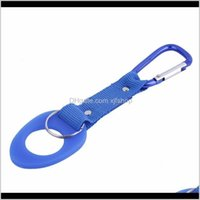 Outdoor Gadgets And Sports & Outdoors Carabiner Water Bottle Holder Camping Hiking Aluminum Rubber Buckle Hook High Quality Is0313 Drop Deli