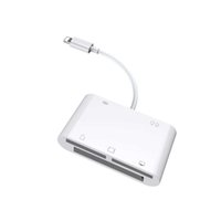 6in1 SD TF CF Card Reader Digital Camera Connection Kit OTG Adapter For iPhone 12 11 PRO X XS XR 6 7 8 Plus For iPad iOS 14