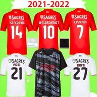2021 2022 Benfica Soccer Jerseys 21 22 WALDSCHMIDT RAFA Camisola de futebol PIZZI maillots de football CERVI DARWIN CHIQUINHO hommes uniformes à domicile troisième kit enfants
