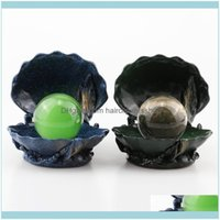 Novelty Items & Garden Décor Sea Shell Figurine Display Stand Crystal Glass Lens Ball 40Mm 60Mm 80Mm Pography Lensball Base Magic Sphere Hol