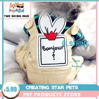 Dog Apparel Denim Stripe Pet Jumpsuits Puppy Cat Hoodie Jean Coat Four Feet Clothes For Small Dogs Teddy Yorkies Sweatshirt DOGGYZSTYLE