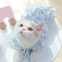 고양이 의상 봄 가을 패션 드레스 코트 새끼 고양이 옷 크리스마스 복장 Vestiti Gatti Pet 제품 Qoo50QZ