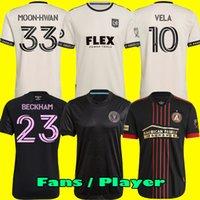 الرجال الاطفال MLS 2021 انتر ميامي CF لكرة القدم الفانيلة 21 22 Higuain بيكهام أتلانتا المتحدة LAFC مونتريال لكرة القدم قمصان المشجعين