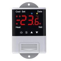 Control inteligente Inalámbrico WiFi Controlador de temperatura WiFi Termostato AC110-220V DTC1201 Aplicación de pantalla digital de sensor NTC para