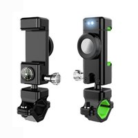 Outdoor Gadgets Bike Phone Holder For Motorcycle Compass Anti-theft Mobile Bracket Bicycle Accessories Riding Equipment