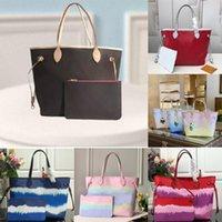 Louis Vuitton bag neverfull Luxurys Designers Bolsas Bolsa Moda Casual Grande Capacidade Shopping Handbags Tote Número de série