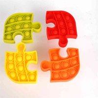 Kabarcık pop duyusal fidget oyuncak sıkmak kabarcıklar bulmaca stres kabartma basit anahtarlık squishy top parmak oyunu coaster HH31joyh