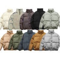 21aw Mens 다운 재킷 패션 소년 힙합 두꺼운 코트 트렌디 한 반사 파카스 여성 유니섹스 방풍 코트 겨울 11 스타일