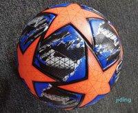 Yeni Avrupa Şampiyonu Boyutu 4 Futbol Topu Final Kiev PU Boyutu 5 Topları Granül Kaymaz Futbol