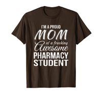 Mãe orgulhosa do t-shirt do estudante da farmácia Presente do dia das mães