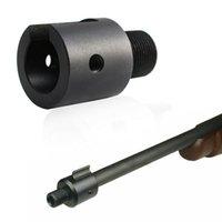 100 stks Tactische Snuit Remadapter 1 / 2-28 5/8-24 RUGER 10/22 Draad Vat Adapters voor Rail