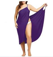 Women Beach Dresses Sexy Sling Designer Summer Dress Fashion Plus Size Towel Backless Swimwear Femme Clothing