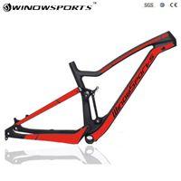 Marcos de bicicleta 27.5er 148 * 12 Suspensión completa Carbon Mountain XC MTB Frameet Frame Disc 2021