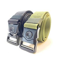 حزام الرجال في الهواء الطلق التكتيكية الإفراج السريع زر مرونة حزام المصنعين يمكن تخصيص