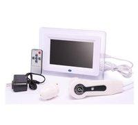 LCD Ekranlı El Cilt Saç Analizörü Yüz Cilt Analizi Test Kapsamı Machine Yüzü