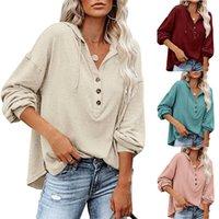 여성용 니트웨어 솔리드 티셔츠 재킷 바닥 켄라 로프 겨울 새로운 001