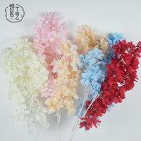 Şube Kar Kiraz Şeftali Çiçeği Düğün Salonu Tavan Dekorasyon Simülasyon Çiçek