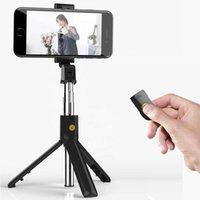 Cool Dier 3 em 1 Bluetooth Selfie Stick Dobrável Mini Tripod Handheld Monopé Expansível com Obturador Sem Fio para iOS Android
