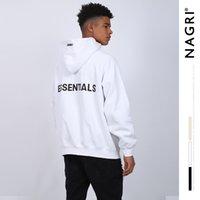Nagri homens camisola de nevoeiro essencial moda marca casaco rua hip hop hoodie