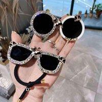 Hair Accessories 2021 Summer Glasses Styling Scrunchies Women Girls Elastic Bands Tie Ring Rope Holder Headdress