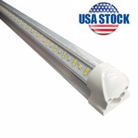 LED 튜브 라이트, 72W 8FT 가구 전등, 이중 측면 통합 전구 램프, T8 안정기없이 작동,웨어 하우스에 대 한