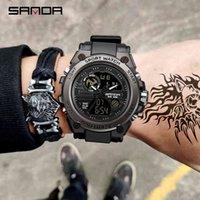 디자이너 시계 브랜드 시계 럭셔리 시계 최고의 군사 쿼츠 남성 방수 충격 남성 시계 Relogio Masculino 2021