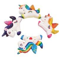 11 cm Jumbo Squishy Hayvan Squishies Oyuncak Çocuklar için Gökkuşağı Unicorn Kawaii Sıkmak Oyuncaklar El Kavrama Yavaş Yükselen Stres Rölyef Duyusal Fidget Tatmin edici G6381ni