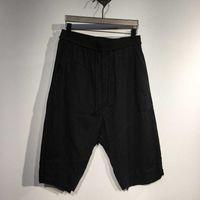 Oneofyou dark Julius 7 shorts men's cotton and hemp Yamamoto Yaosi Yohji mid-range Pants Capris TQWG