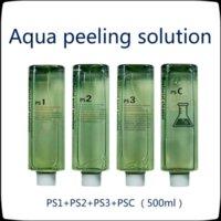 PS1 PS2 PS3 PSC Solución de peeling Aqua Aqua 500 ml por botella Hydra Dermabrasion Facial Suero de limpieza para la piel normal # 0221