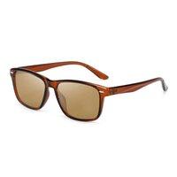 2021 High-end retro moda homens óculos de sol piloto piloto condução de praia de praia UV400 senhoras óculos casuais