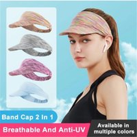 Cycling Caps & Masks Women Cap Summer Outdoor Sports Running Headwear Bandana Breathable MTB Bicycle Hair Visor Head Band