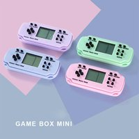 Portable Game Players Retro Electronic Console Built-in 26 Games Video Handheld Kids Gifts With Keychain
