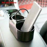 Auto Organizer Water Cup Halter Multifunktionsgetränke Rack Aufbewahrungswerkzeug Ein-in-zwei-Box-Teetasse Fit für die meisten Modelle