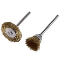 Pcs Brush Steel Wire Wheels Brushes Drill Rotary Tools Polis...