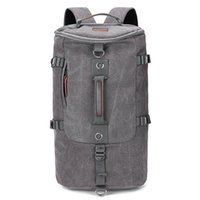 Backpack Travel Fashion Large Capacity Men's Outdoor Sports Trend Canvas Student School Bag