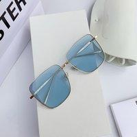 2020 nuovi occhiali da sole GM Windwind grande scatola di metallo femminile coreano v shenzhen occhiali da sole di alta qualità occhiali da uomo