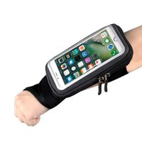 Pulso de ciclismo Running Bicicleta Bicicleta Saco Touch Screen Riding Bike Case Armband Ao Ar Livre Sports Mobile Fontes Casos