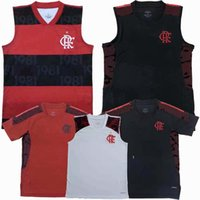 2021 2022 CR Flamengo Gilet Soccer Soccerys Diego Gabi de Arrascaeta Débardeur Débardeur 20 21 22 Train de football Sports sans manches T-shirt