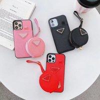 Lüks Kart Yuvası Telefon Kılıfları + Evrensel Kulaklık Kol Sikke Çanta Cüzdan Kılıf iphone 13 12 11 Pro Max Mini XS X XR 7 8 Kapak Ticari Kredi Bankası Kartları Tutucu