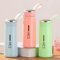 12oz 380ml Fashion Tumblers Personalized Mugs Car Portable Glass Cup Student Cups Tumbler Coffee Mug Wholesale