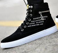 Large size spring and summer sandals high - top board shoes fashion trend students sports men leisure