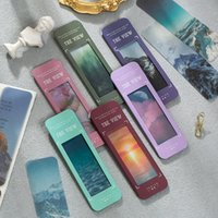Bookmark 20 Pcs Lot The View Forest Decoration Material Paper Reading Book Mark Stationery Message Card Office School Supplies