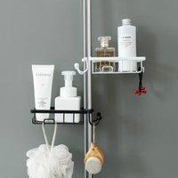 Kitchen Storage & Organization Metal Sink Rack Faucet Clip Holder Sponge Dish Drainer Shelf Organizer College Dorm Bathroom Accessories