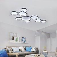 Tavan Işıkları Modern LED Oturma Odası Yatak Işık Lambası Plafon Avize AC110-220V İç Fikstür